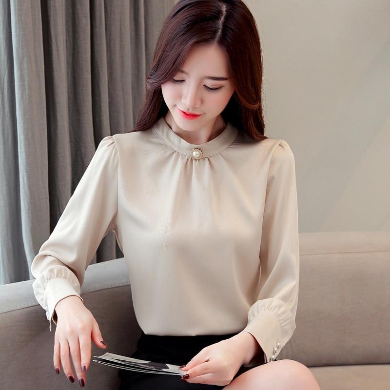 blusas mujer de moda 2021 long sleeve women shirts womens tops and blouses chiffon blouse shirt feminina plus size tops 1418 45 3