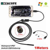 Antscope 7 millimetri/5.5 millimetri Endoscopio USB Della Macchina Fotografica Android 1m 3.5m Macchina Fotografica di Controllo PC Android Endoscopica Periscopio USB Bisogno di Supporto OTG19