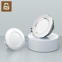 샤오미 OPPLE LED 통 3W 120 학위 라운드 Recessed 램프 따뜻한/쿨 화이트 Led 전구 침실 주방 실내 LED 자리 조명
