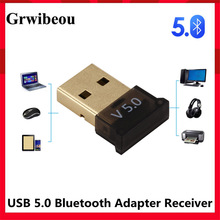 Adapter Receiver Mouse Bluetooth Dongle Wireless Laptop Grwibeou Audio for Computer PC