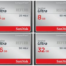 Sandisk CF карта памяти 32 ГБ 16 ГБ 8 ГБ 50 МБ/с./с 25 МБ/с./с ультра 32 г 16 г 8 г компактная вспышка для цифровой камеры оригинал