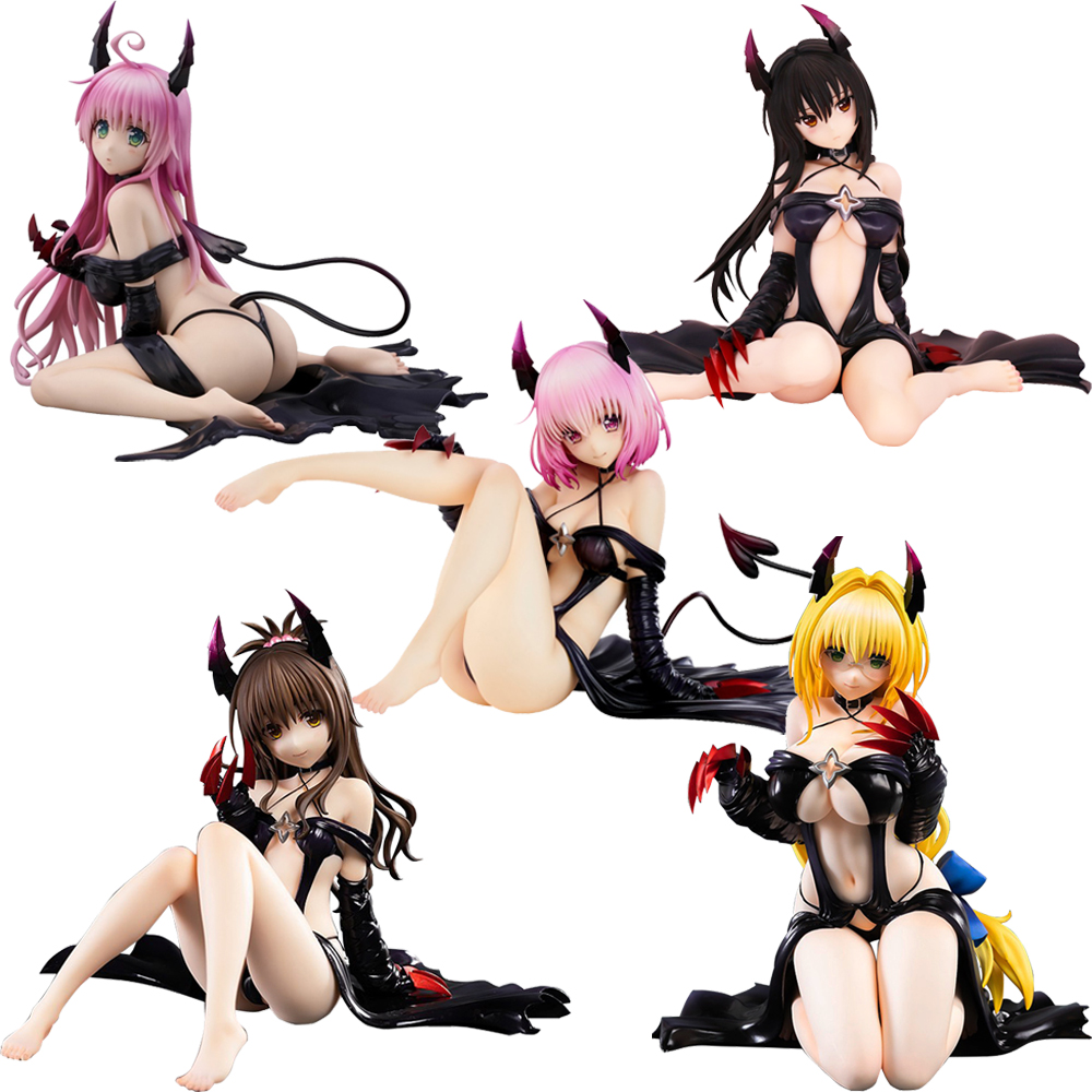 15cm To Love-Ru Darkness Tearju Lunatiqu Yuuki Mikan Kotegawa Yui Sexy Girl Action Figure Japanese Anime PVC Adult Action Figure