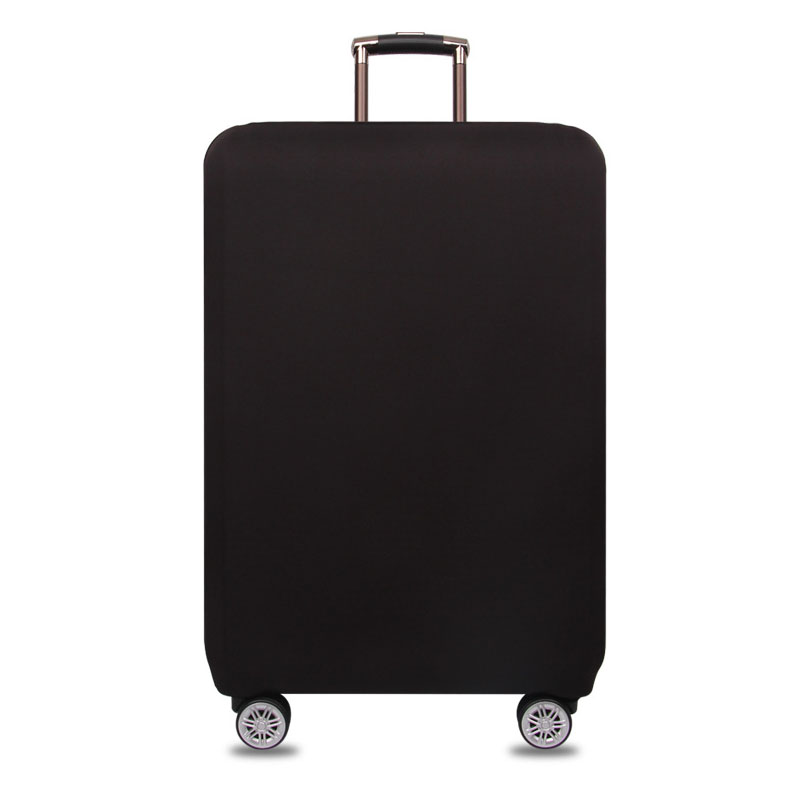 18-32inch Black Anti-dirty Luggage Cover Trolley Baggage Travel Bag Covers Elastic Protection Suitcase Case Travel Accessories