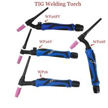 WP 26F TIG Torch Body TIG26F Argon Welding Torch Head WP26 Flex Air Cooled Gas Tungsten Arc Welding GTAW A 200 Flex Torch