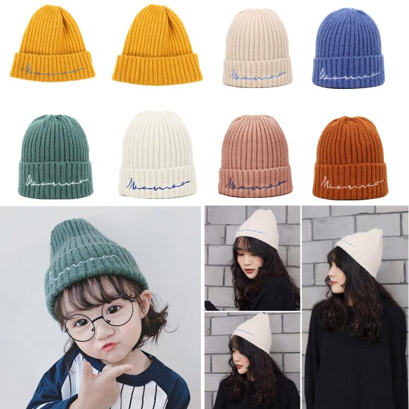 Knit Winter Warm Ski Crochet Slouch Hat Cap Beret Beanie for Baby Boys Girl