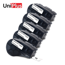 UniPlus 5 Pcs M21-750-499 Labelmaker for Brady BMP21 Plus Letter Label Printer Labpal ID PAL Replacement Nylon Tapes