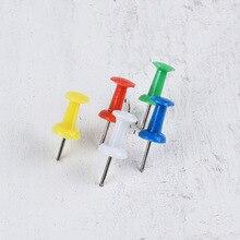 200Pcs/box Push Pins Thumb Thumbtack Board Pins Drawing Photo Wall Studs Office School Supplies Mixed Color