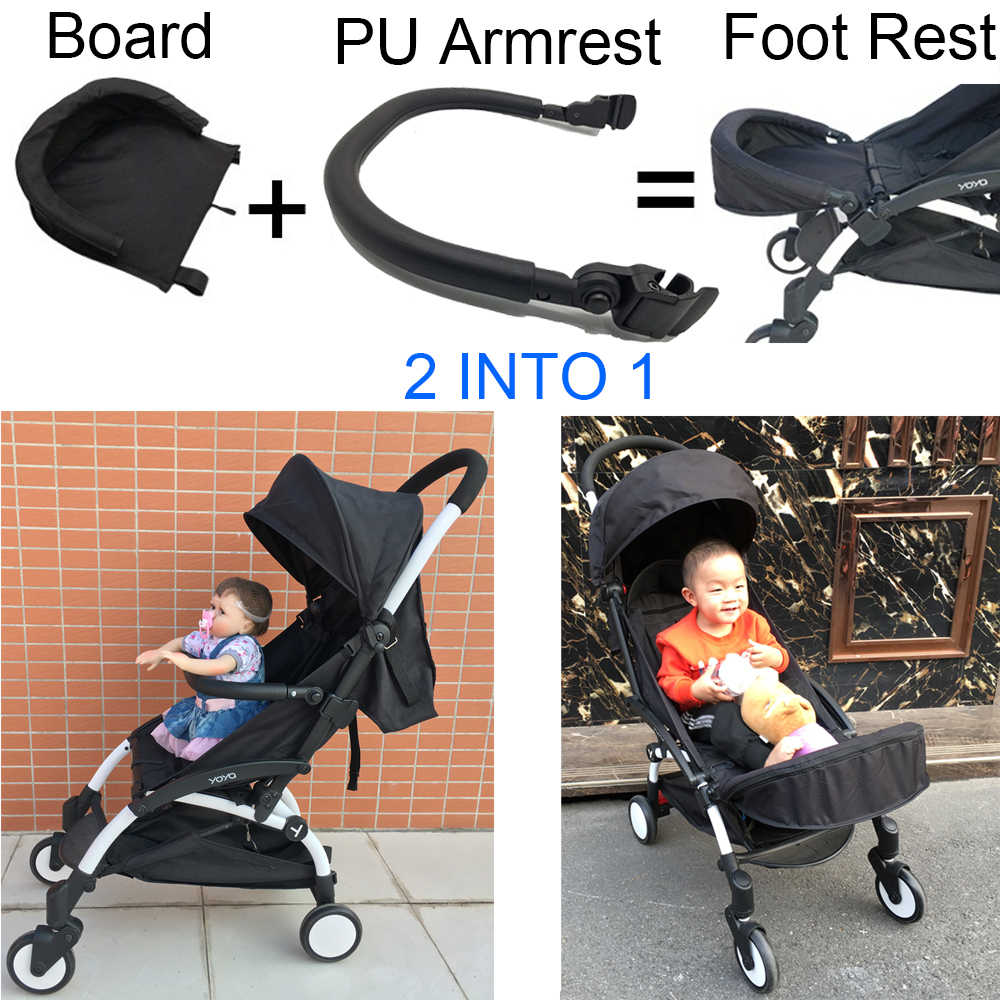 Stokke Scoot Buggy Board 3 In 1 Yoya Stroller Footboard And Armrest Extension Stroller Seat Board Front Bumper Safety Railing For Babyzen Yoyo Yuyu