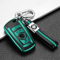 Carcasa de cuero TPU para coche, carcasa para llave, accesorios, para Bmw 1, 3, 4, 5, 6, 7 Series, F10, F20, F30, E60, E90, E46, G30