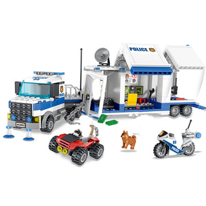Image 4 - City Police Station SWAT Building Blocks Car Helicopter House Truck Creative Bricks Toys For Children Boys