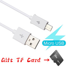 Kabel Micro USB 2A Cepat Charger USB Kabel Data untuk Android Ponsel USB Charging Cord 16 GB(China)