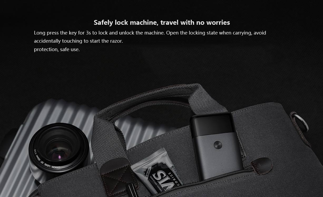 Original Xiaomi Mijia Electric Shaver Reciprocating Dual Blade