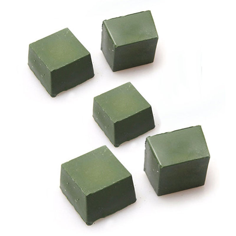 1/5x Leather Strop Sharpening Polishing Compound Abrasive Wax Leathercraft Green