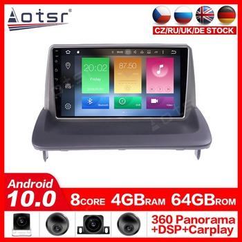 Android 10.0 Multimedia Player Radio GPS Navigation For VOLVO C40 S40 C30 C70 2006-2012 car DVD Player Multimedia Stereo Audio image