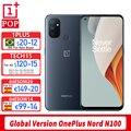 Глобальная версия Oneplus Nord N100 мобильный телефон 6,52 дюймов 90 Гц Snapdragon 460 Octa Core с распознаванием лица 13MP тройной Камера Android 10