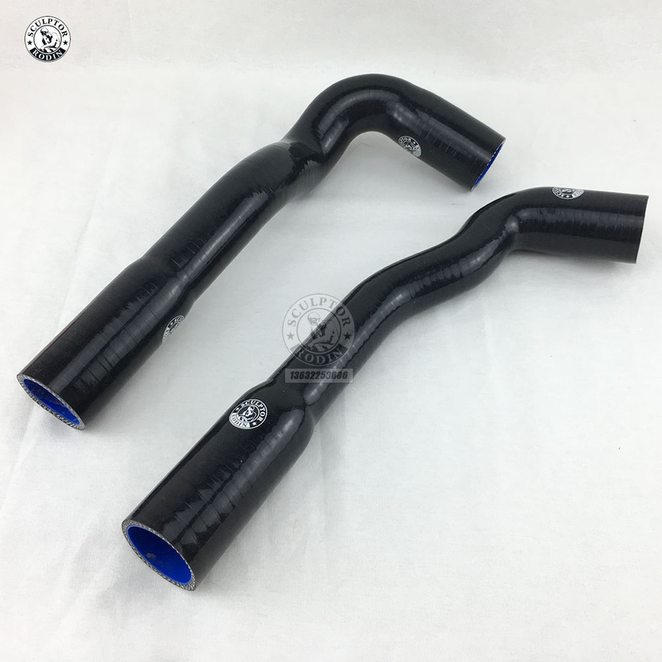 For BMW E36 M3 325i// is//iX 1992-1999 Silicone Radiator Hose Kit Not Fit M50 93 94 95 96 97 98 Black
