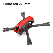 цена на TCMMRC FPV Frame Kit Carbon Fiber Cloud roll 220 220mm 5 Inch  5mm Arm With 3D Printed Parts for RC FPV Racing Drone