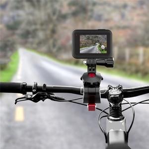 Image 2 - אוניברסלי אופניים מהדק מתכוונן כביש אופני תמיכה עבור GoPro עבור אוסמו פעולה עבור DJI אוסמו כיס ספורט מצלמה אבזרים