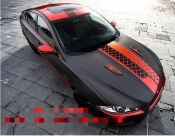 Racing Sticker For Jaguar XF Door Body Exterior Decoration Body Modified Sport Sticker Foil