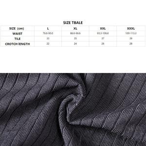 Image 5 - Breathable Mens Boxers Underwear Brand Sexy Boxershorts Men Lightweight Stretch Knit Boxer Letter Print 3 Pack Fibra De Bambu XL