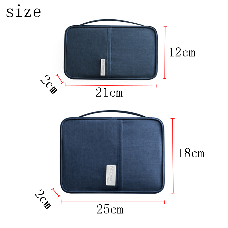 Passport Covers Holder Card Package Credit Wallet Organizer Travel Accessories High Quality Document  Postcard Bag Cardholder