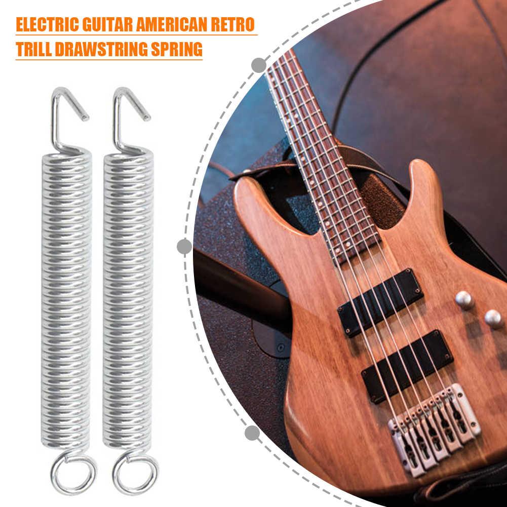 Metal Electric Guitar Tremolo Bridge Springs with Hook Screw for ST Strat Guitar