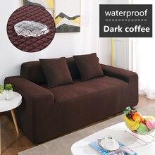 Wodoodporna Sofa Sofa z poduszkami pokrywa antypoślizgowa podkładka dla zwierząt na pieluchy cztery pory roku, Sofa, ręcznik, Nordic uniwersalny jednolity kolor