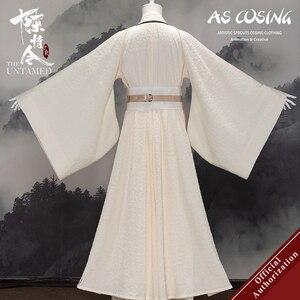 Image 2 - Uwowo сериал Mo Dao Zu Shi The Untamed Цзинь лин, карнавальный костюм, древняя одежда Цзинь рулань, косплей для мужчин