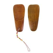 1 шт. натуральный деревянный рожок для обуви, портативный ручной подъемник для обуви с длинной ручкой, аксессуары для обуви из твердой древесины