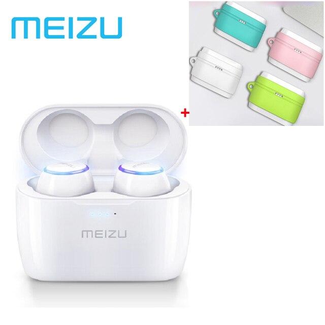 Original Meizu POP TW50 Dual Wireless Earphones Mini TWS Headset Sports In Ear Earbuds Waterproof Headset