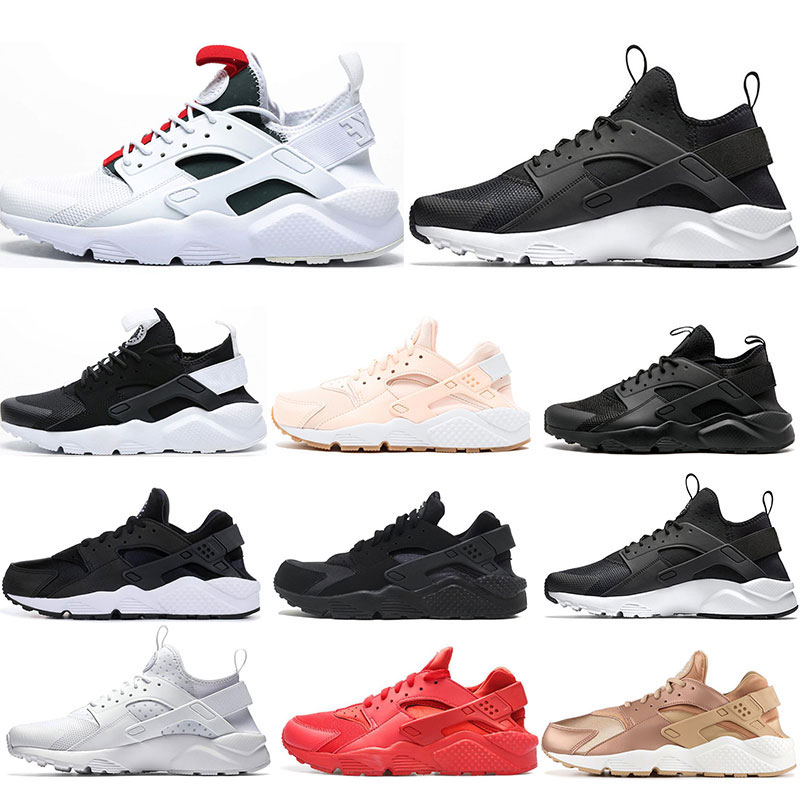 2020 Huarache 4.0 1.0 Running Shoes Mens Womens Triple White Black Red Rose Huraches Breathe Athletic Sports Sneakers Trainers
