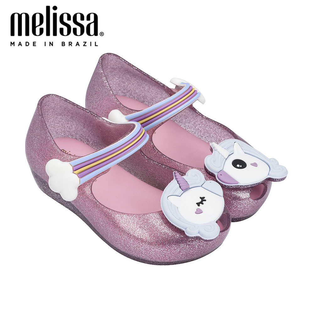 Mini Melissa Ultragirl Unicorn Girl Jelly Shoes Sandals 2020 NEW Baby Shoes Soft Bottom Melissa Sandals For Kids Non-slip