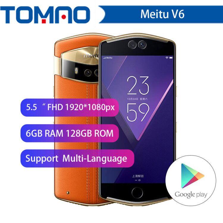 Téléphone portable d'origine Meitu V6 6 GB RAM 128 GB ROM Deca Core 5.5 pouces double caméra avant et arrière 12.0MP + 5.0MP 4G téléphone caméra-in Mobile Téléphones from Téléphones portables et télécommunications on AliExpress - 11.11_Double 11_Singles' Day 1