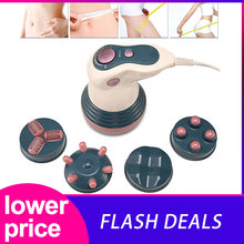 Electric Vibration Infrared Full Body Weight Loss Anti Cellulite Slimming Kneading Face Lifting Roller Machine