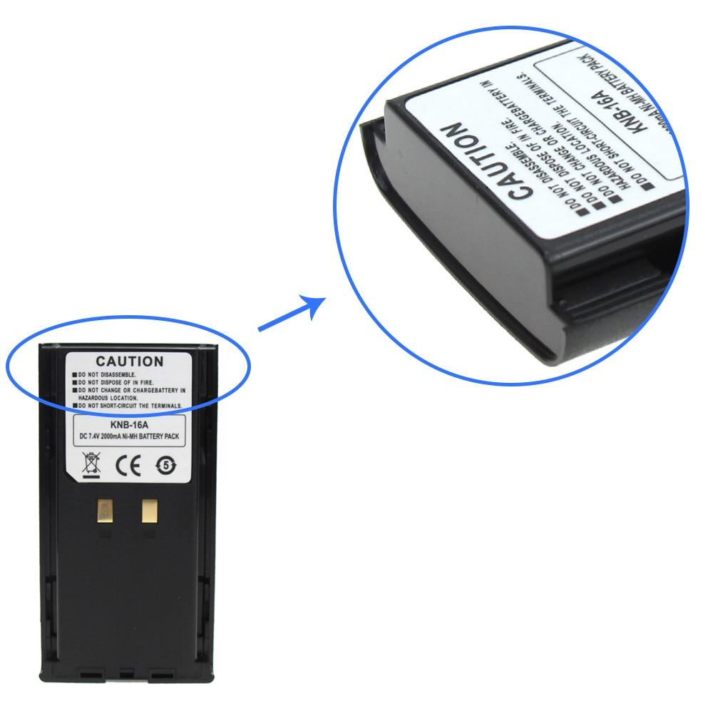 KNB-17A  1500mAh Battery For Kenwood TK190 TK290 TK390 TK480 TK481 Walkie
