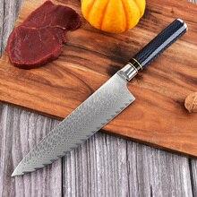 Cuchillo de cocina LUOKESI fish Patrón de hueso Damascus VG10, cuchillo de cocina para el hogar, cuchillo de chef de Cuchillo de paulina cocina paulina cocina en 30 minutos
