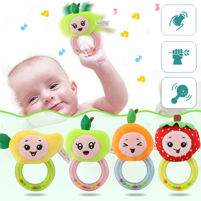 Baby Toys Rattles Children's Developing 0-12 Months Educational For Newborns Rattle For Babies Toddlers Boy 13 24 Plush Child