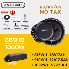 Conversion-Kit Battery Motor BBSHD Mid-Drive Bafang Electric 1000W BBS03 52V 48V Samsung