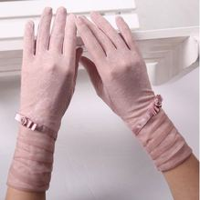 Летние солнцезащитные перчатки для вождения сенсорных экранов