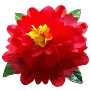 Пион (80 см, желтый/красный/синий/розовый цвет в наличии) волшебный трюк пустая рука появляющийся цветок магии сценический трюк Комедия