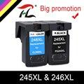 YLC PG245 PG245XL PG-245XL PG-245 PG 245 XL 245XL чернильные картриджи многоразовых картриджей для Canon Pixma IP 2820 м X 492 мг 2520 2924 2920