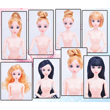 12 Moveable Joints Toys Doll Body With Head Female Figure Na