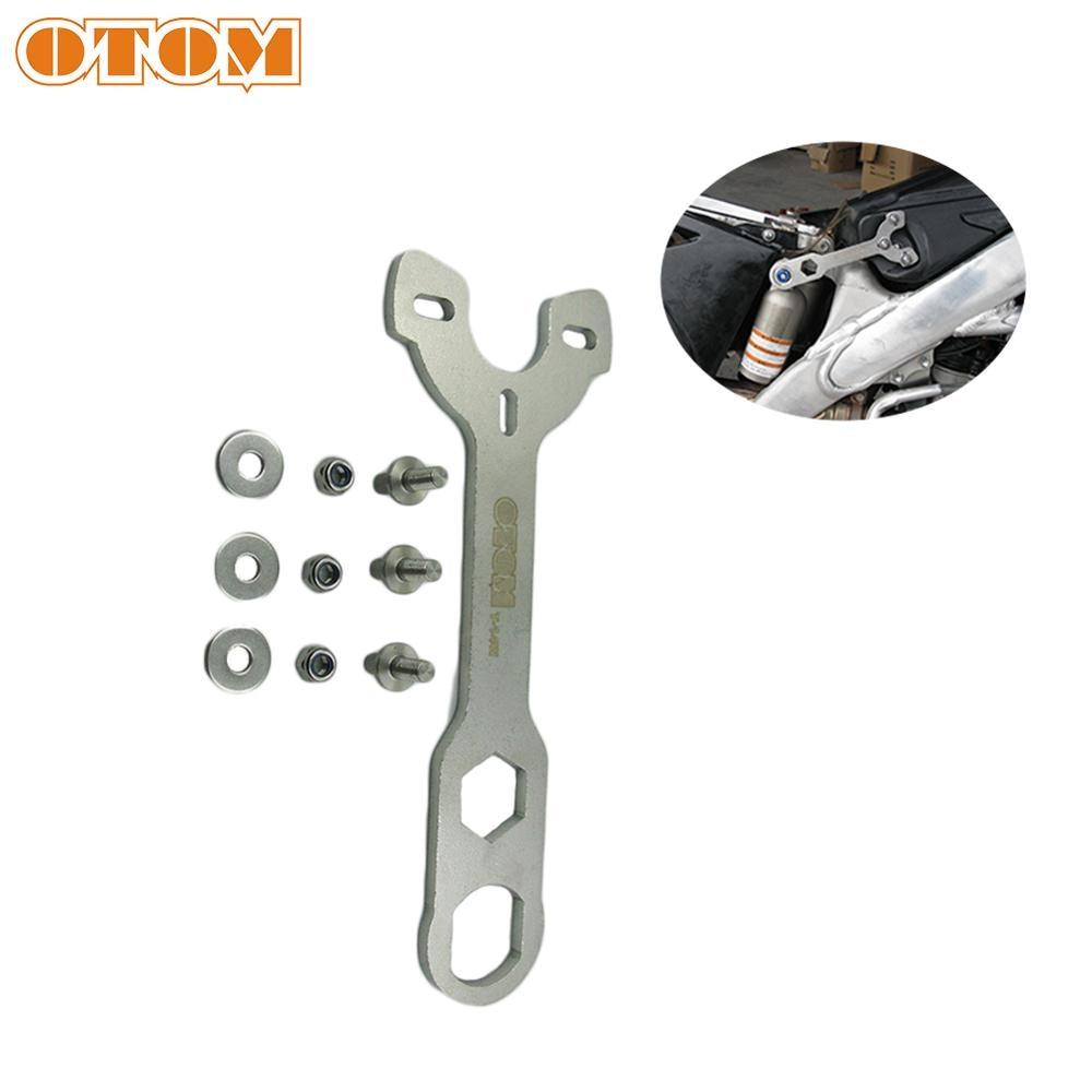 OTOM Motorcycle Adjustment Wrench Tool Rear Shock Absorber Oil Seal Seat Remove Spanner Universal For Quad Bike ATV Dirt Bike
