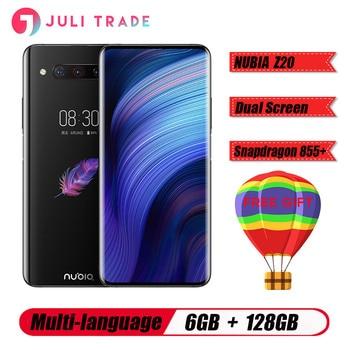 "New Original ZTE Nubia Z20 6.42"" Dual Screen Snapdragon 855 Plus Octa core Android 9.0 6GB 128GB 3 Cameras 4000mAh Smartphone"
