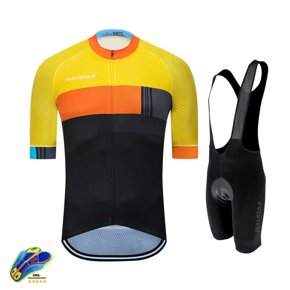 Cycling Jersey 2020 Pro Team Raudax Bike Kit MTB Cycling Clothing Men Mountain Bike Wear Clothes Maillot Ropa Ciclismo Triathlon