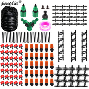 10-60m Automatic Micro Drip Irrigation System Garden Irrigation Spray Self Watering Kits for Potted Lawn Garden Greenhouse(China)