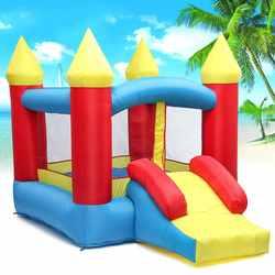 1 مجموعة نفخ ملعب نطاط القلعة في الهواء الطلق داخلي العالمي الترامبولين نفخ القلعة لعب ألعاب للأطفال هدية