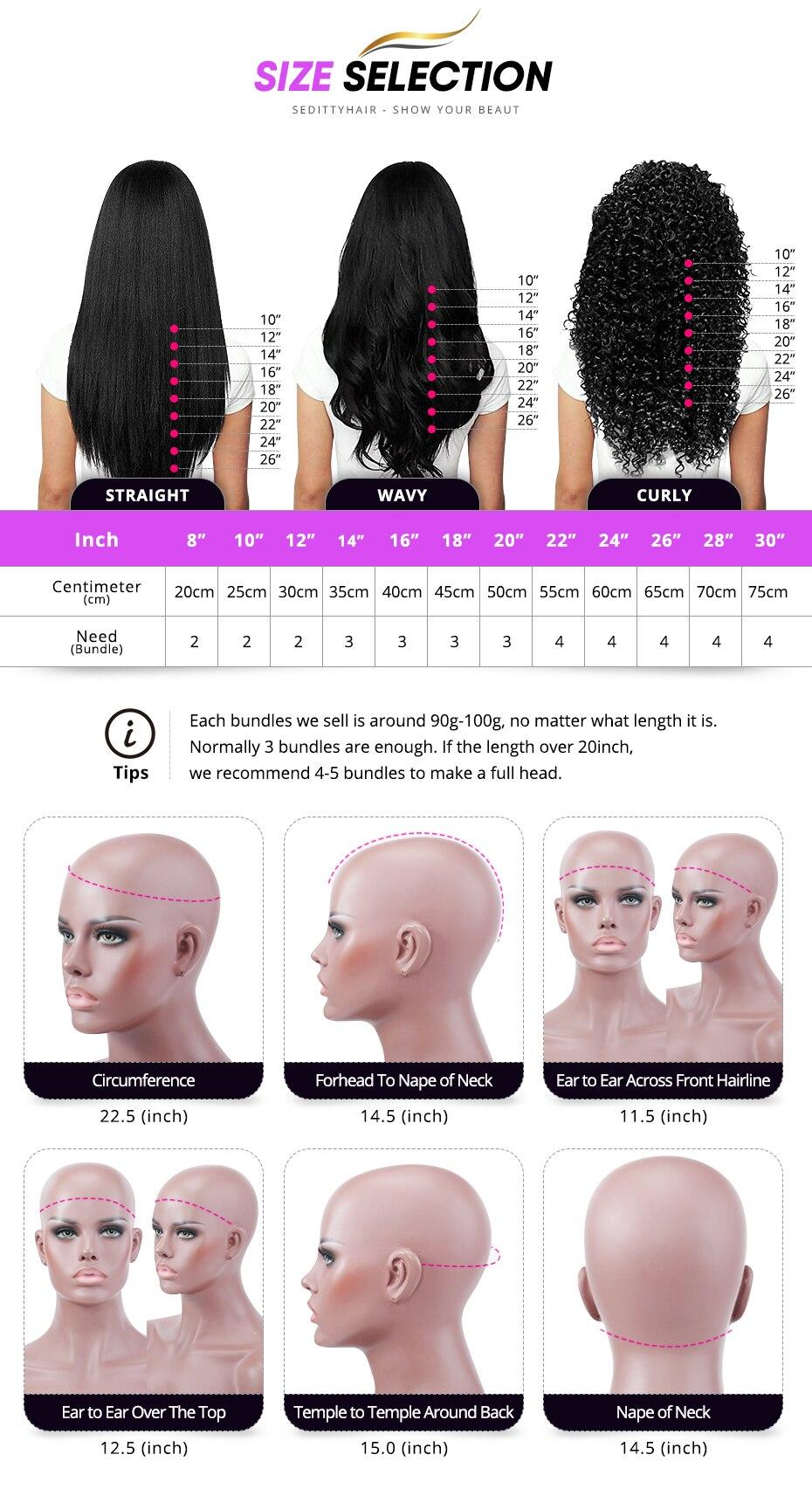 13x4 frente do laço perucas de cabelo