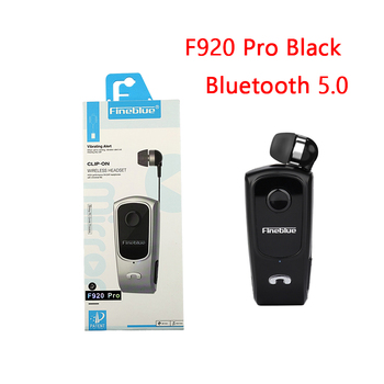 Fineblue F920 Pro Mini Wireless Retractable Portable Bluetooth Headset Calls Remind Vibration Wear Clip Sports Running Earphone 10