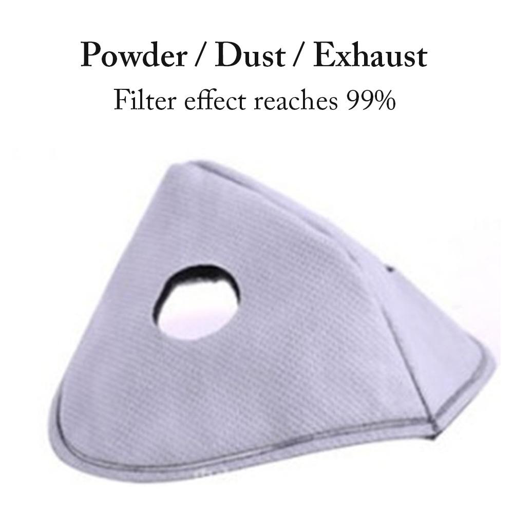 12PCS Mouth Mask Replacement Filter Non-Woven Dustproof Durable Active Carbon Filter For Women Men Protection Mesh Mask